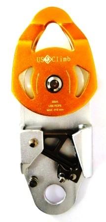 Polia Dupla Oscilante 30KN Sistema Anti Retorno USClimb EN
