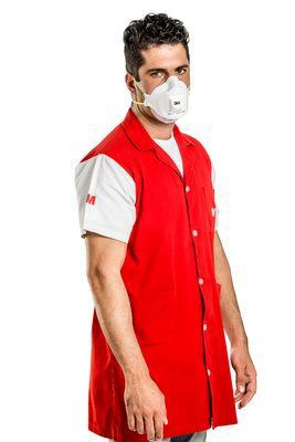 Respirador Descartavél Mascara Semifacial, sem carvão ativado, com válvula, PFF1 9312+BR 3M