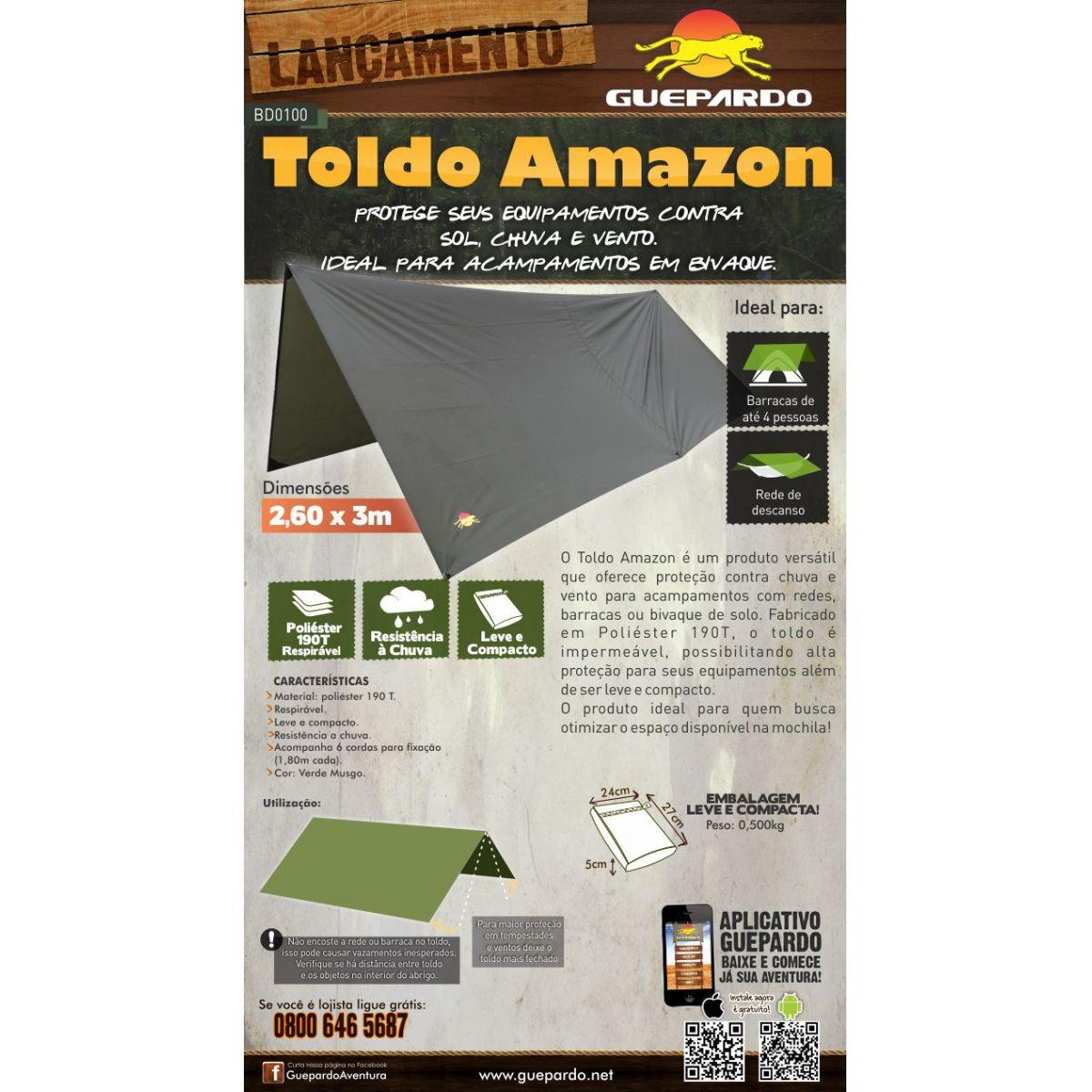 Toldo Amazon Guepardo