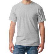 Camiseta Manga Curta Malha PV Cinza