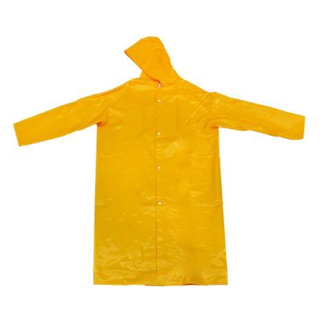 Capa de Chuva PVC Forrado - Amarela - Tamanho G