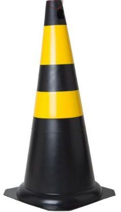 Cone de Sinalização Rígido 75cm KTELI