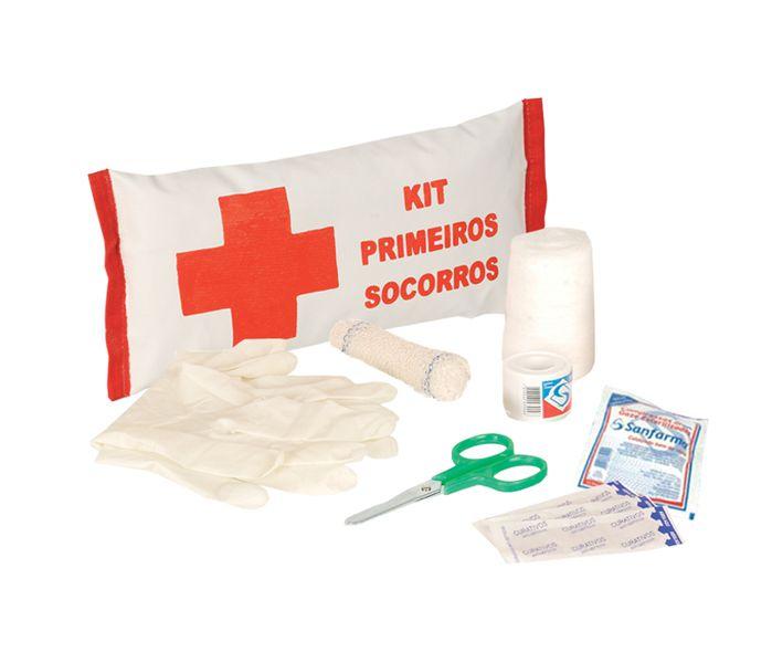 Kit Primeiros Socorros PLASTCOR