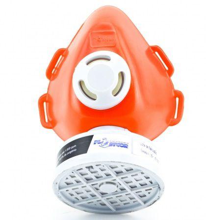Respirador Semi Facial 1 Filtro PLASTCOR