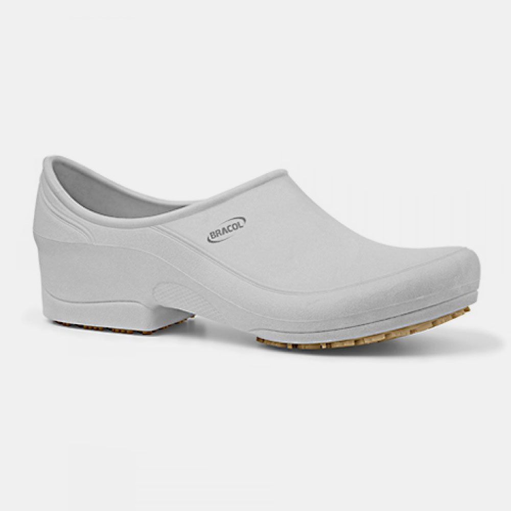 Sapato Antiderrapante MOOV Branco BRACOL