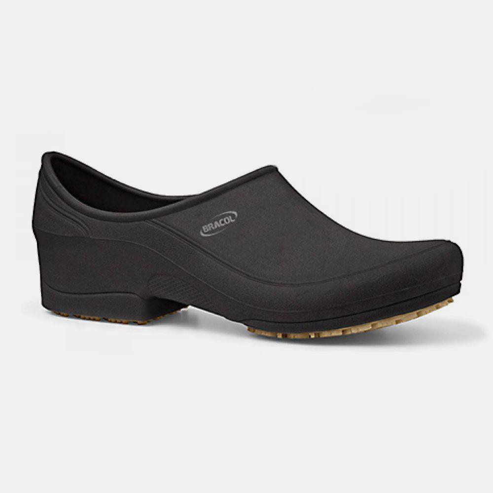Sapato Antiderrapante MOOV Preto BRACOL