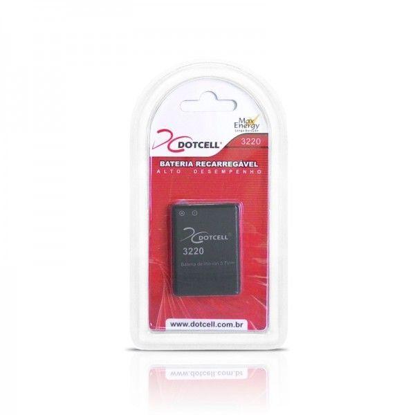 Bateria de Celular Recarregável Litio 3.7V 3220 / BL5B - Dotcell