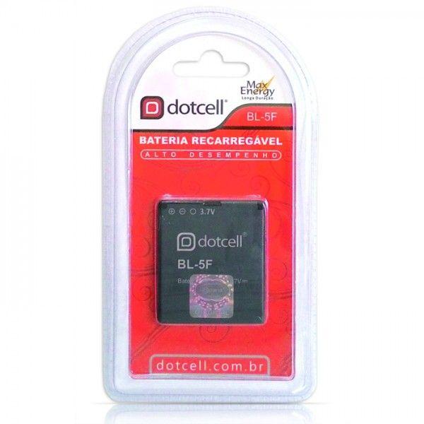 Bateria de Celular Recarregável Litio 3.7V BL-5F - Dotcell