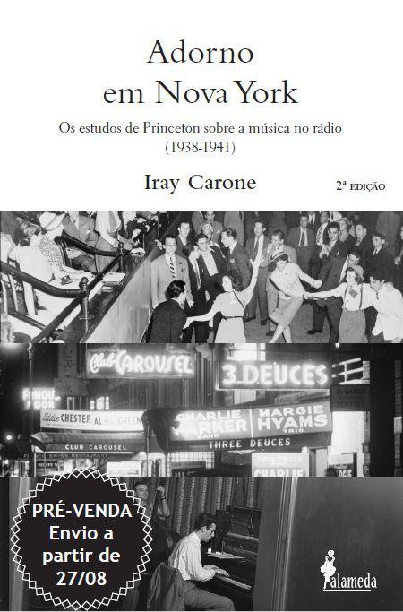 PRÉ-VENDA: Adorno em Nova York, de Iray Carone (2ª edição) (ENVIO A PARTIR DO DIA 27/08/19)