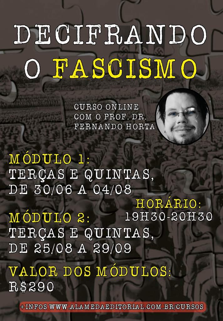 Decifrando o Fascismo - Módulo 1 e 2