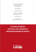 Estudo de direito, processo civil, inovação e empreendedorismo no direito