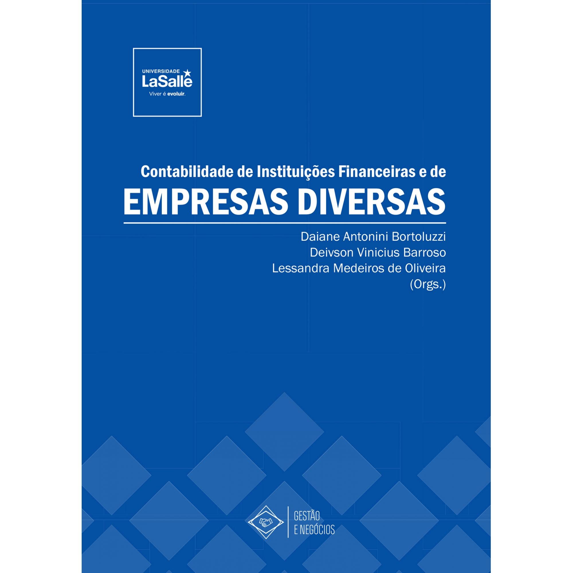 Contabilidade de Instituições Financeiras e de Empresas Diversas
