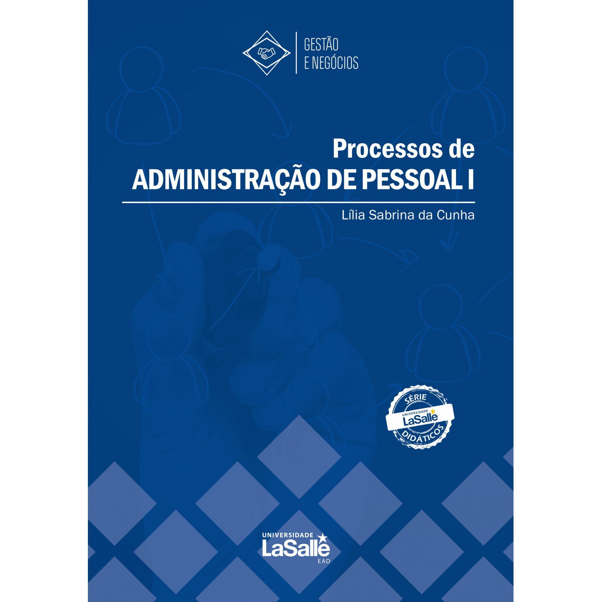 Processos de Administração de Pessoal I