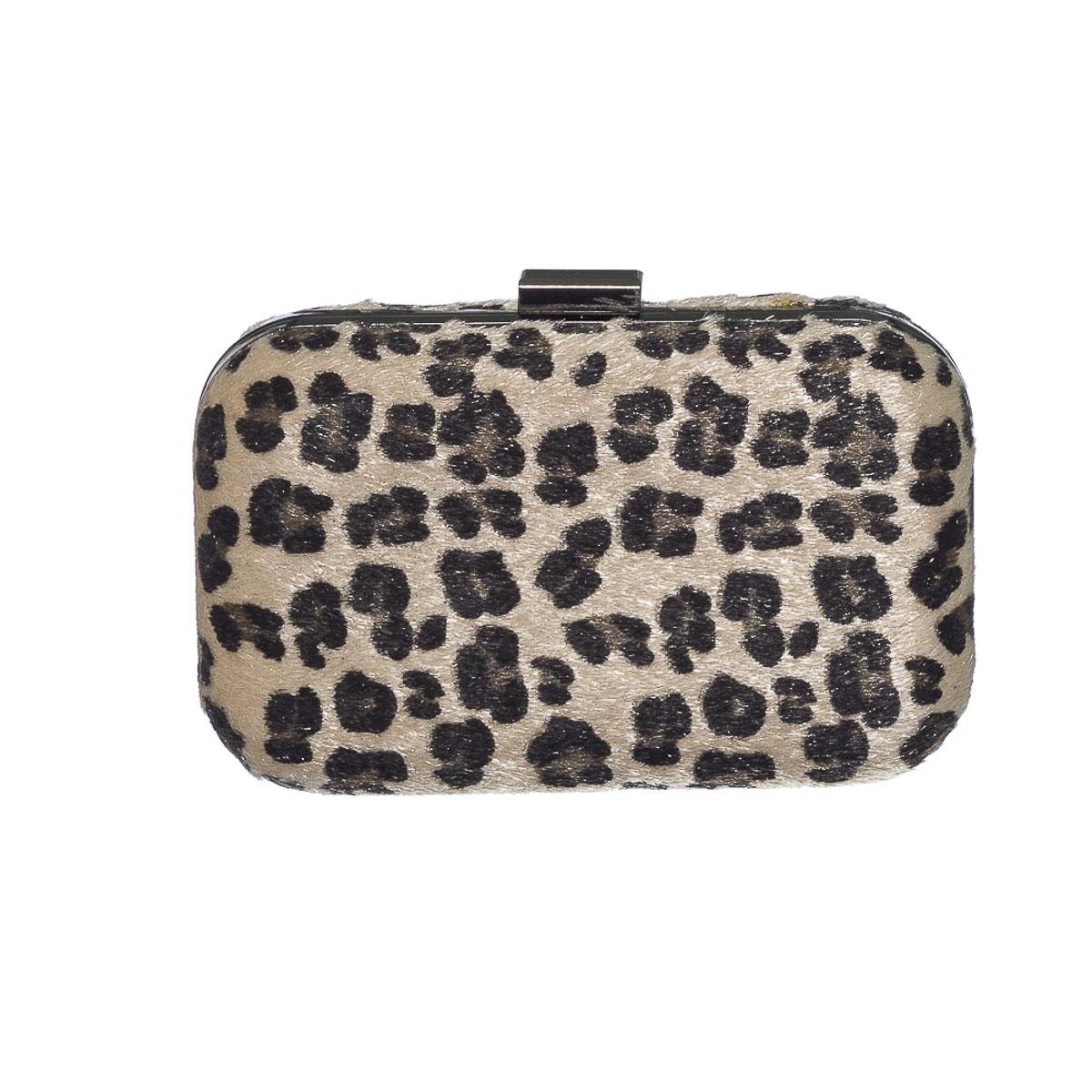 Clutch animal print leopardo