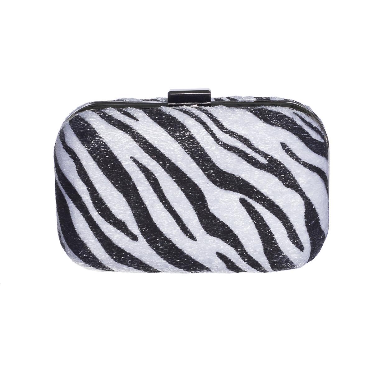 Clutch animal print zebra