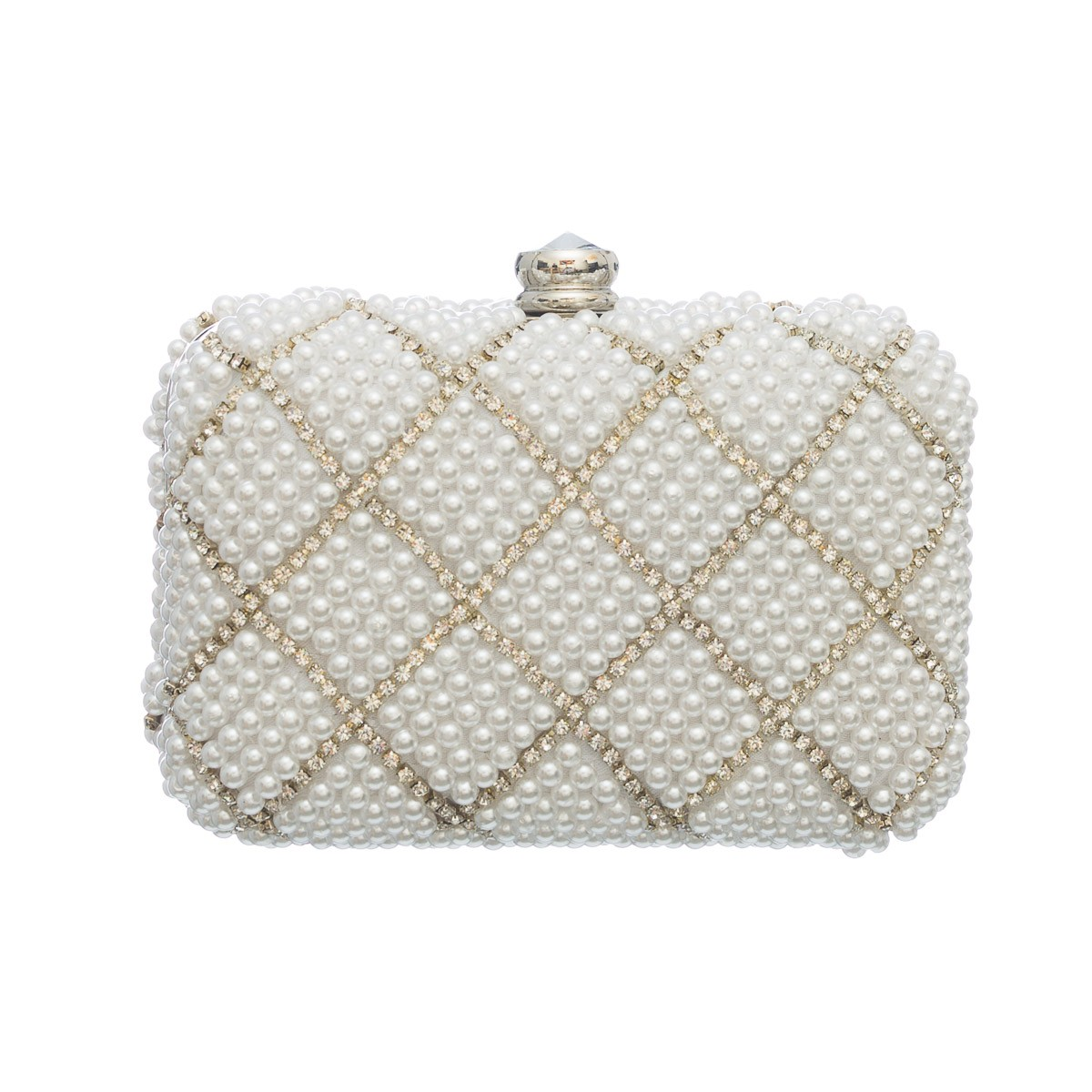 Clutch Pérola Mini Maxi Galla