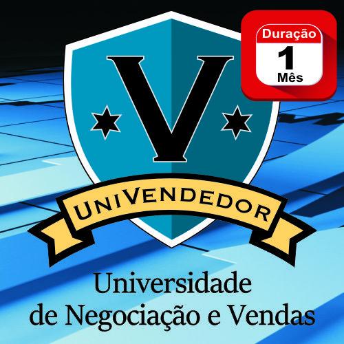 UNIVENDEDOR - Universidade de Negociação e Vendas - 1 MÊS - Programa em Videoaulas  - Videocurso Commit