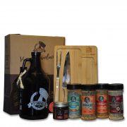 Kit My Growler #2 - Growler Americano  + Kit Churrasco + Tempero BR Spices + Ecobag + Embalagem especial