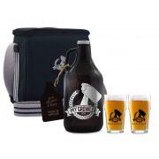 Kit My Growler #7 - Growler Americano + Growler Bag Travel para 2 growler + Copo Pint 300ml