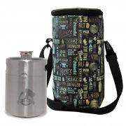 Kit My Keg #1 - Mini Keg 2L My Growler + Growler Bag To Go para 1 growler