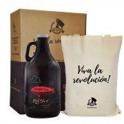 Kit Rock'n'Growler #4 - Growler Americano + Ecobag + Embalagem especial