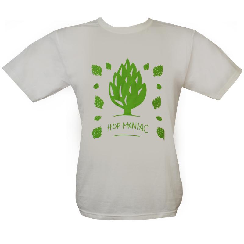 Camiseta manga curta com gola redonda - Coleção Cervejeiros - Lúpulo