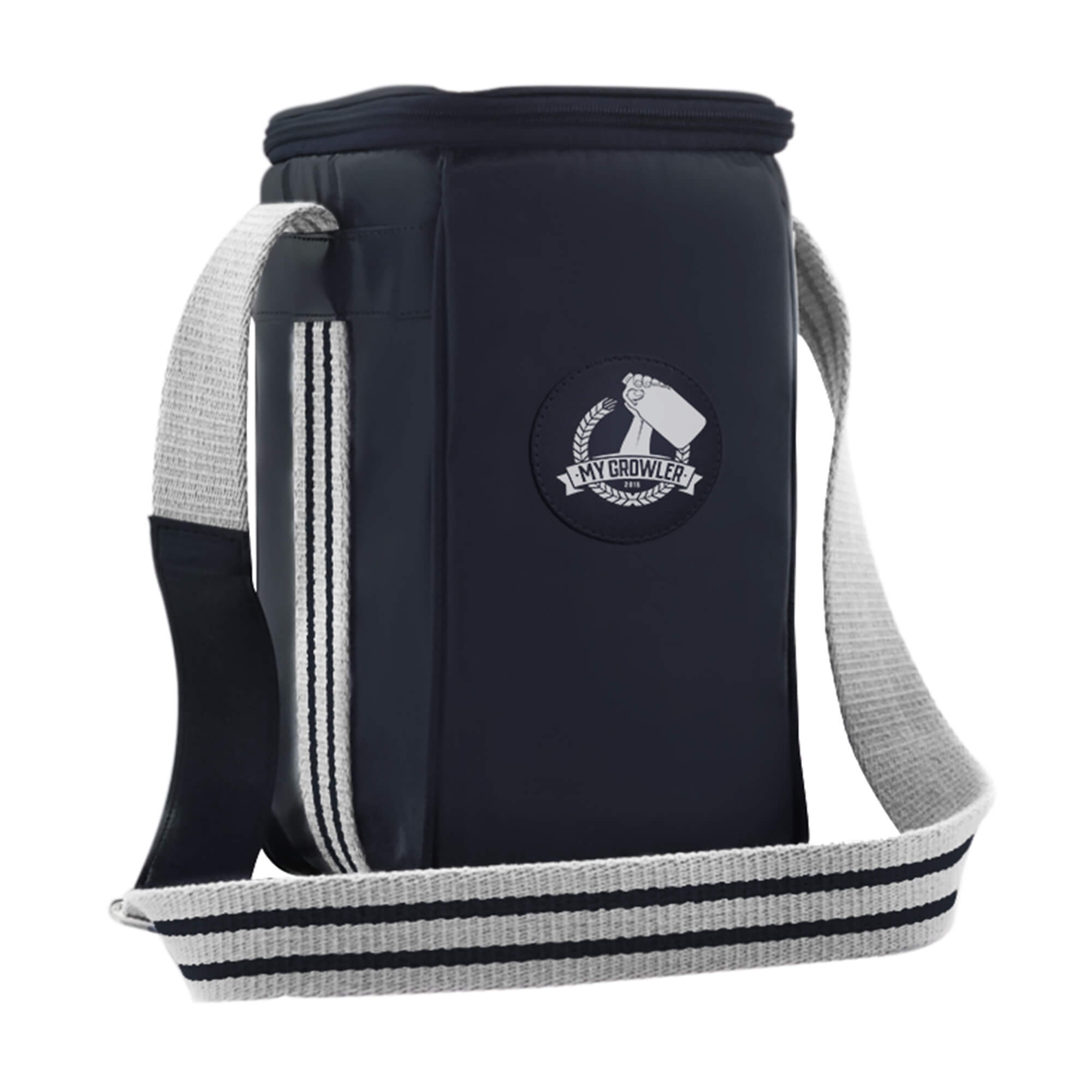 Growler Bag Travel para 1 growler - cor azul