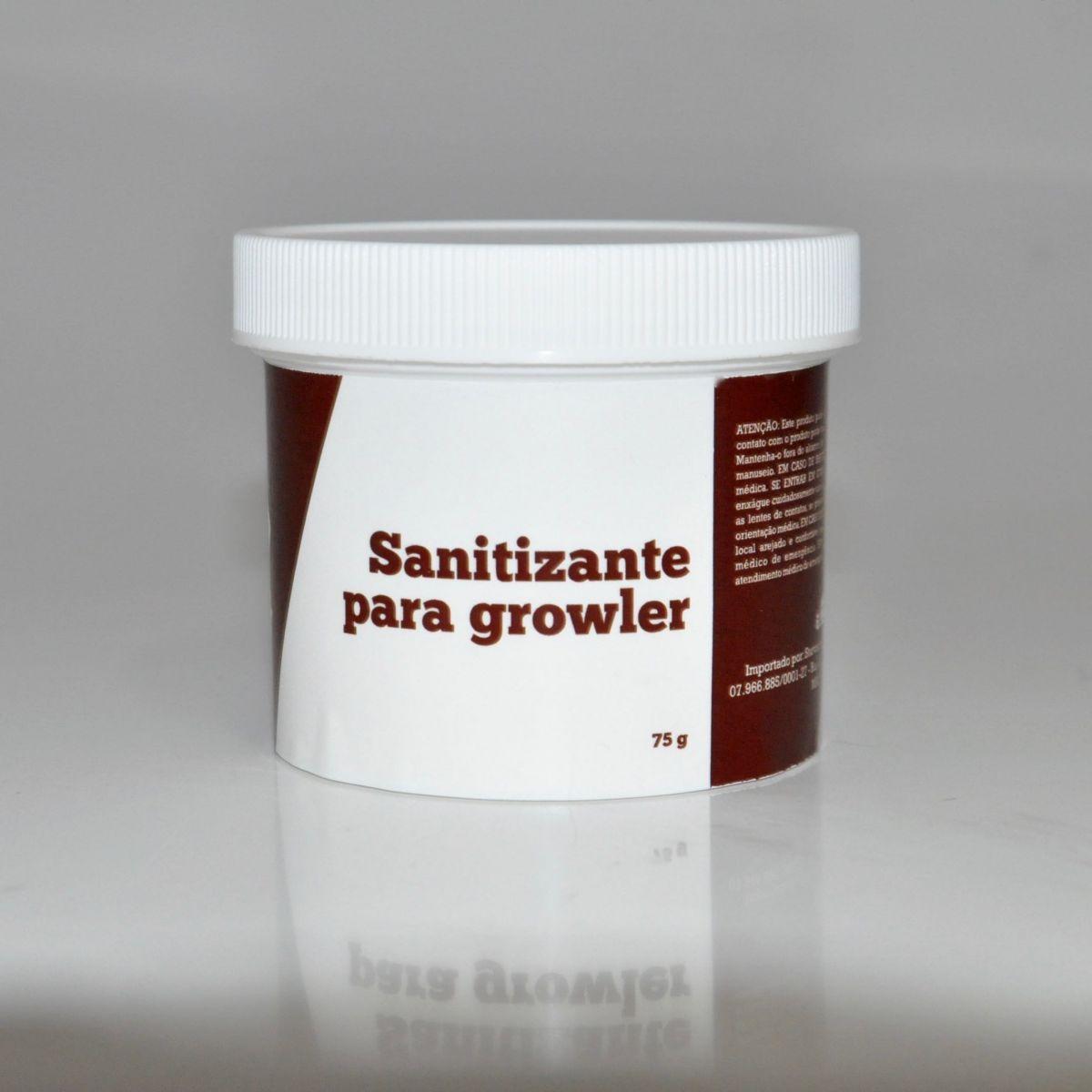 Sanitizante para limpeza de growler (75g)