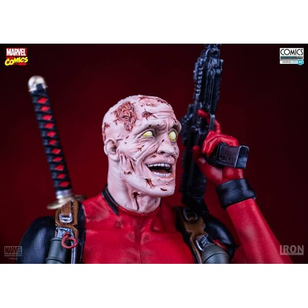Iron Studios Deadpool 1/10 Art Scale  - Movie Freaks Collectibles