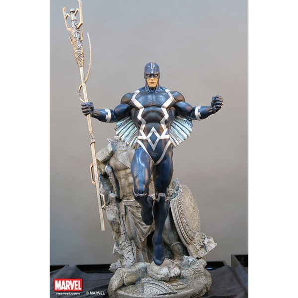 XM Studios Black Bolt / Raio Negro Statue  - Movie Freaks Collectibles