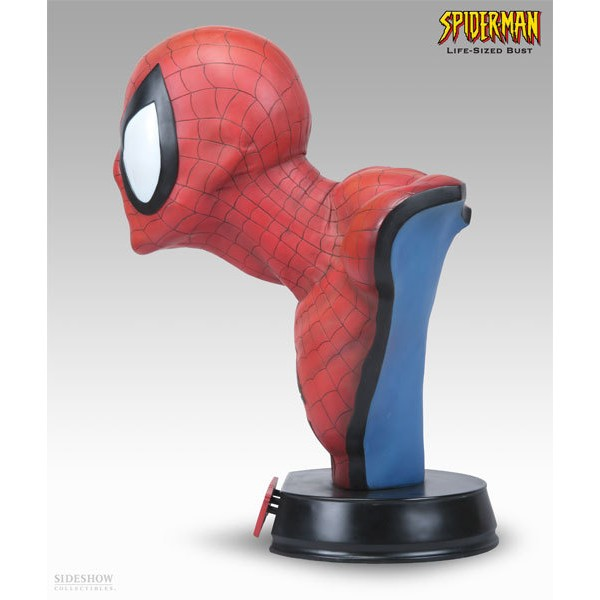 Sideshow Collectibles Homem Aranha Life-size Bust  - Movie Freaks Collectibles
