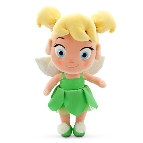 Disney Store Sininho Tinker Bell Criança Pelúcia Peq. 32cm  - Movie Freaks Collectibles