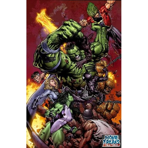World War Hulk - Original Em Ingles!  - Movie Freaks Collectibles