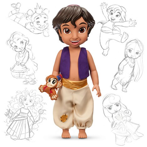 Disney Animators´ Collection Boneco do Aladdin - 40cm  - Movie Freaks Collectibles