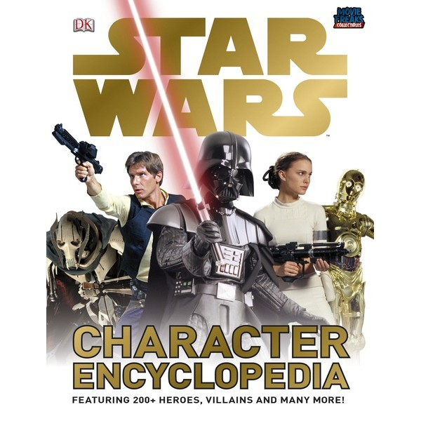 Enciclopedia De Personagens Star Wars Hardcover - Movie Freaks Collectibles