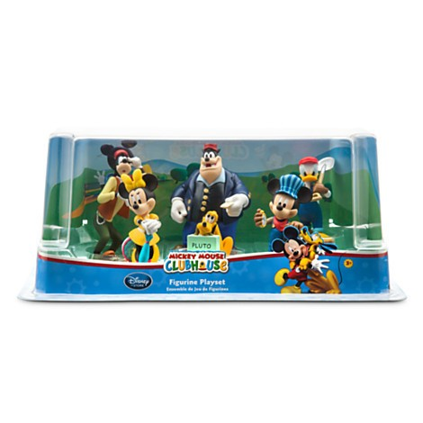 Disney Store Mickey Mouse Clubhouse Train Figure Play Set  - Movie Freaks Collectibles