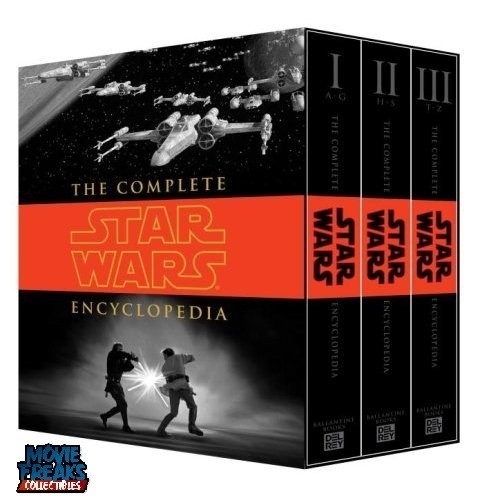 A Enciclopedia Completa De Star Wars Hardcover  - Movie Freaks Collectibles
