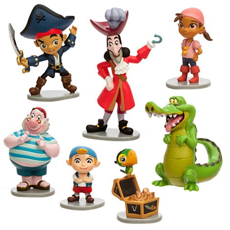 Disney Store Captain Jake and the Never Land Pirates Figure Play Set  - Movie Freaks Collectibles