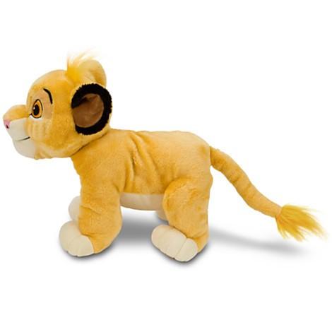 Disney Store Simba O Rei Leão Medio 27.5cm  - Movie Freaks Collectibles
