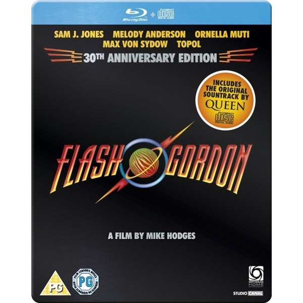 Flash Gordon Steelbook C/ Cd Com A Trilha Sonora Do Queen!  - Movie Freaks Collectibles