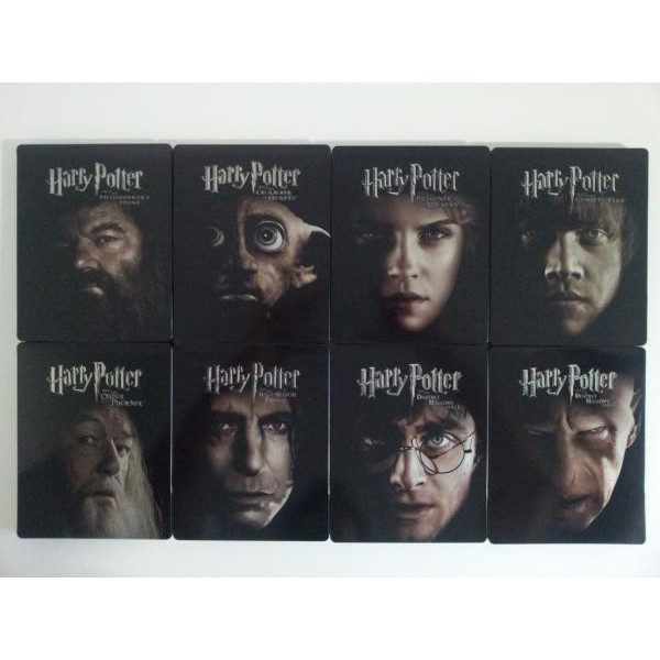 Harry Potter 7.2 Blu-ray Steelbook  - Movie Freaks Collectibles
