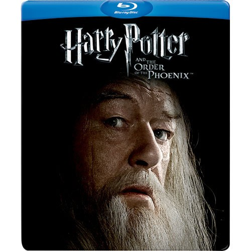 Harry Potter E A Ordem De Fênix Blu-ray Steelbook  - Movie Freaks Collectibles