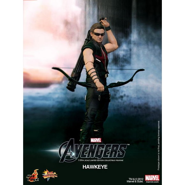 Hot Toys Hawkeye Gavião Arqueiro - Os Vingadores  - Movie Freaks Collectibles