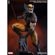 Sideshow Brown Wolverine Premium Format EXclusive