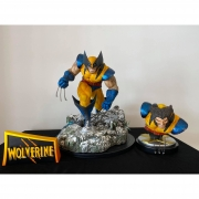 TigerJ Wolverine Hunter 1/4 scale Statue + Busto + Name plate