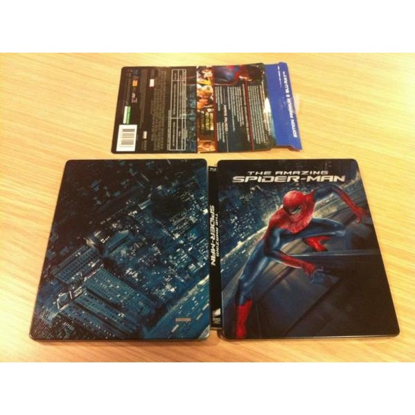 O Espetacular Homem-Aranha Blu-ray Steelbook Future Shop com audio e legendas Portugues-Brasil - Movie Freaks Collectibles