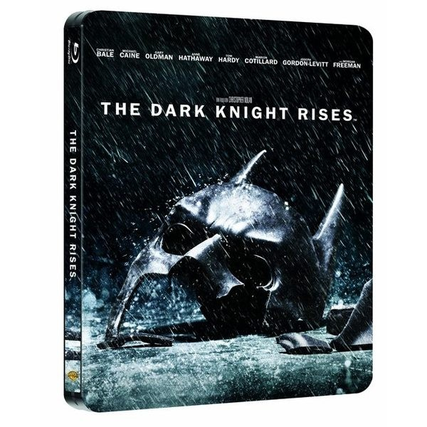 Batman The Dark Knight Rises Blu-ray Steelbook Future Shop  - Movie Freaks Collectibles