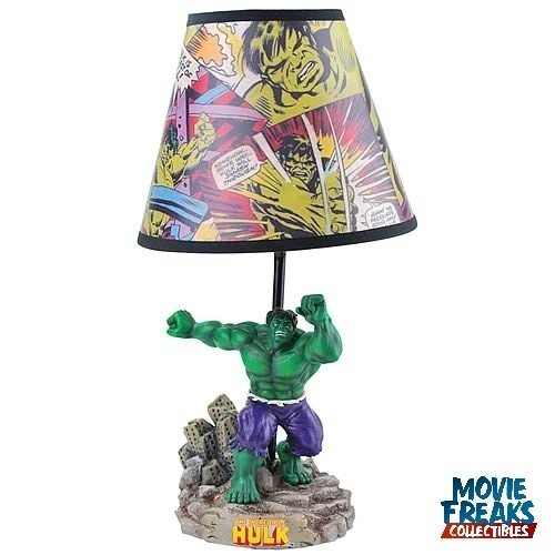 O Incrível Hulk Abajur / Estátua  - Movie Freaks Collectibles