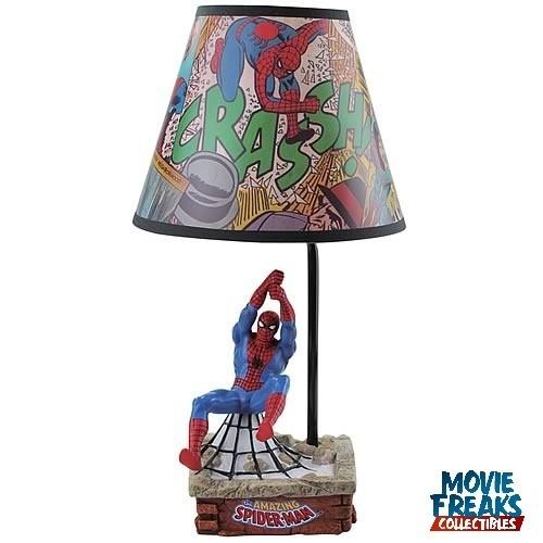 Homem Aranha Abajur / Estátua  - Movie Freaks Collectibles