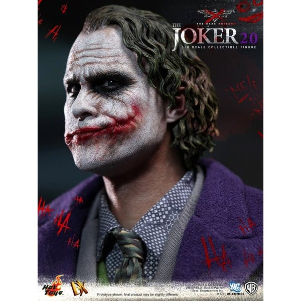 Hot Toys Joker Coringa 2.0 DX11 * EM ESTOQUE!  - Movie Freaks Collectibles